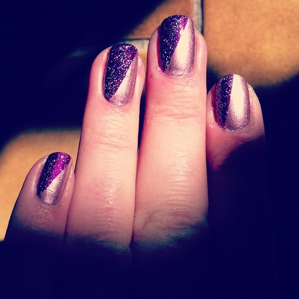 Rose et violet holo
