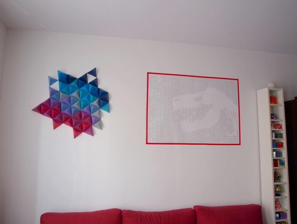 mur origami
