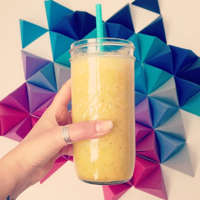 ananas orange menthe