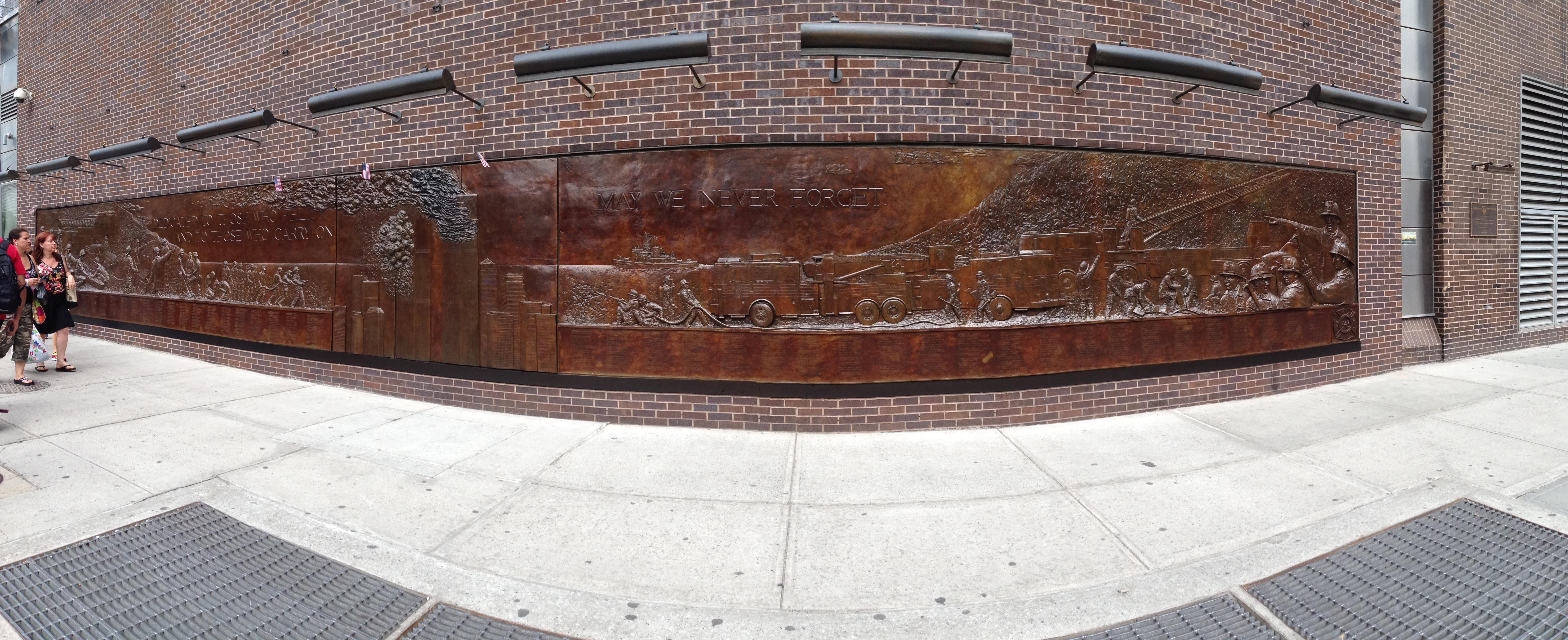 firefighter memorial WTC