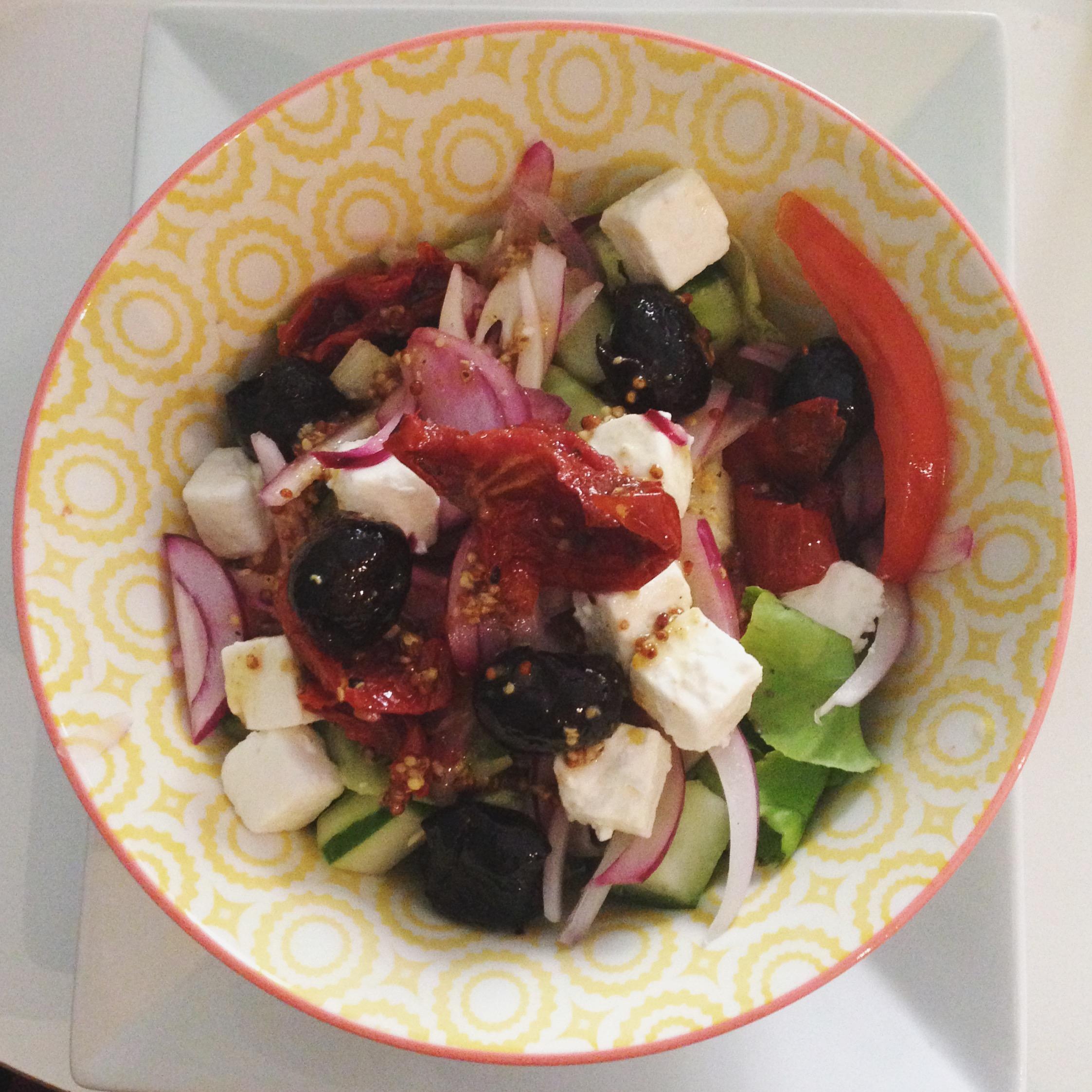 Les pralins Salade grecque