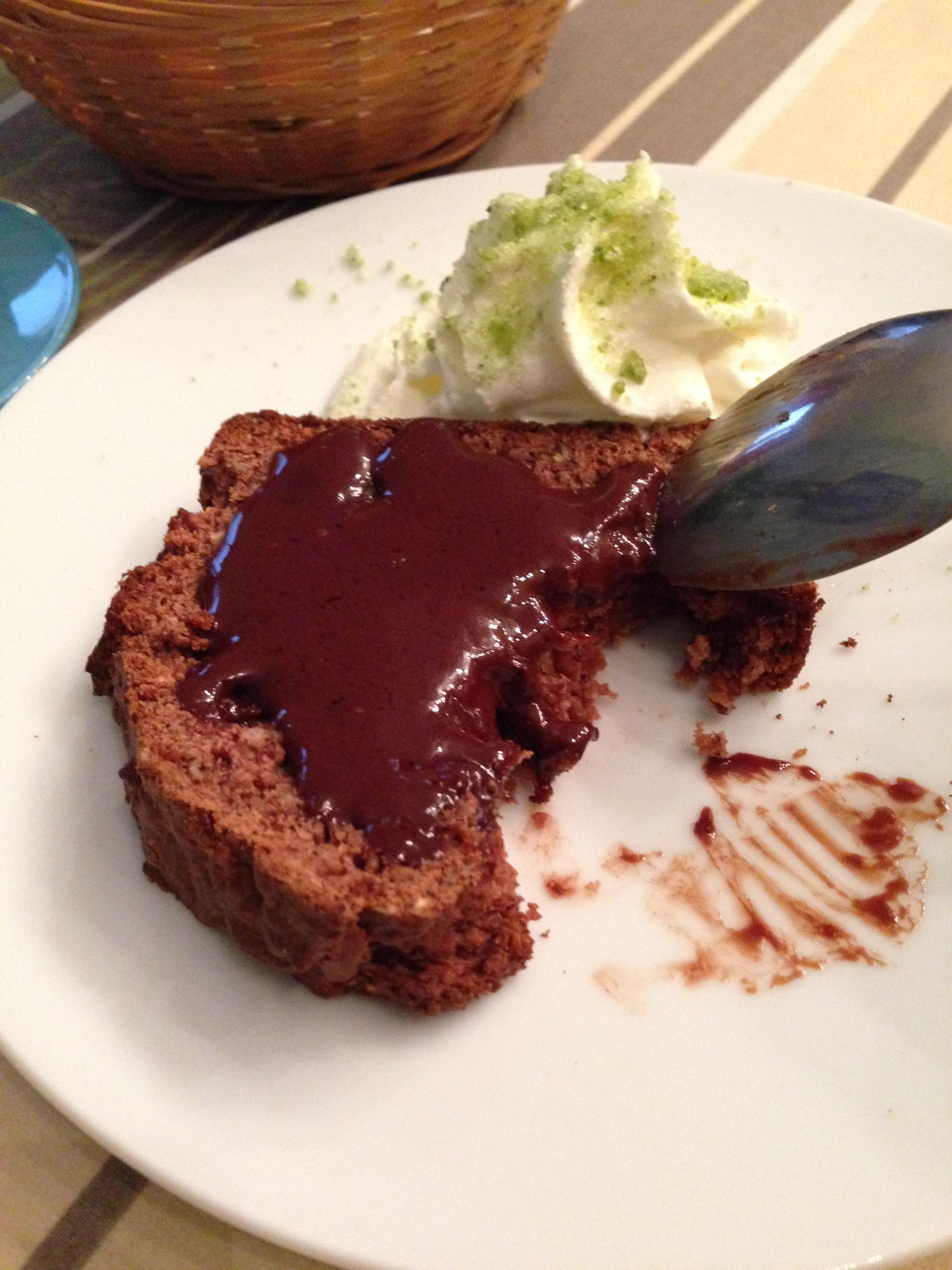 Les pralins, cake chocolat